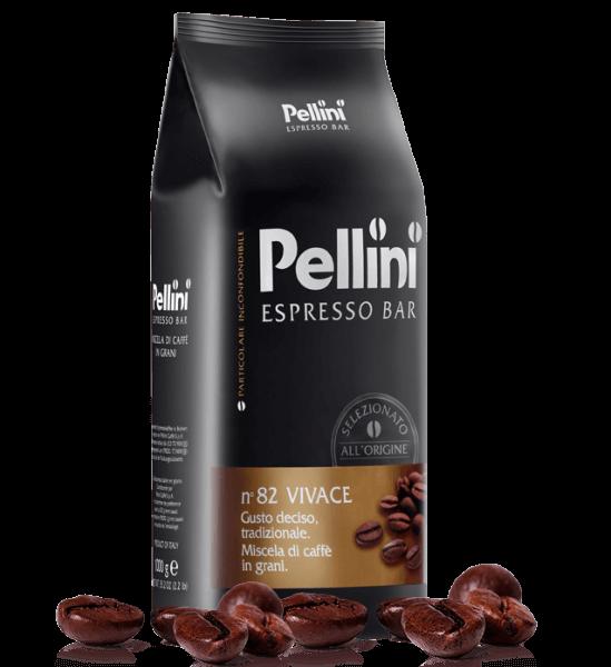 Pellini VIVACE 1kg Kaffee - Espresso Bohnen