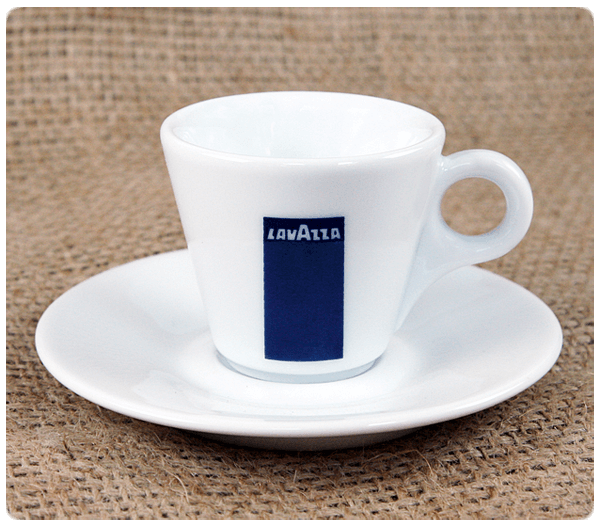 Lavazza Espressotassen BLUE Collection - Set mit 6 Stück