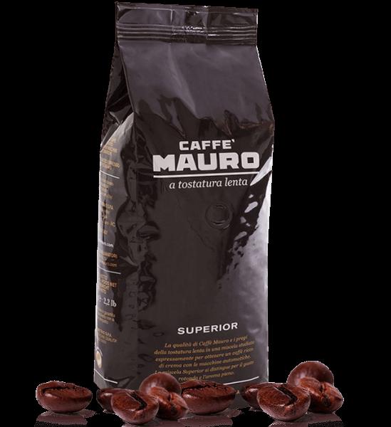 Mauro Superior Espresso Kaffee 1000 Gramm Bohnen