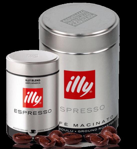 Illy Starke Röstung - Kaffee Espresso 250g gemahlen