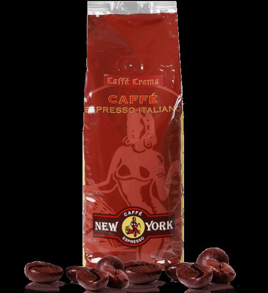 Caffe New York Caffe Crema - Espresso 1000 Gramm Bohnen