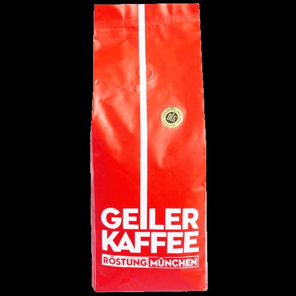 Geiler Kaffee - Roestung Muenchen 1kg Bohnen