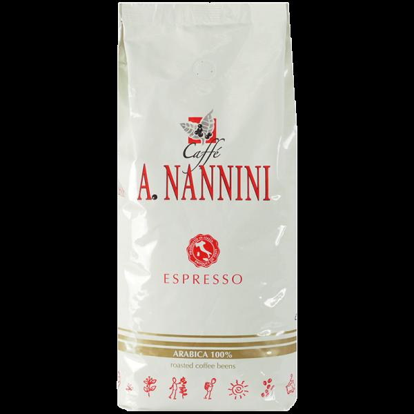 Nannini 100% Arabica, Kaffee Espresso 1kg Bohnen