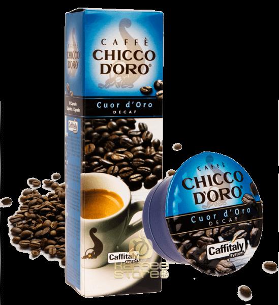 Chicco dOro Cuor koffeinfrei, 10 Kapseln