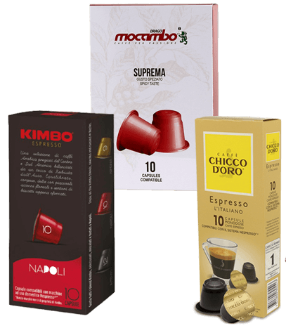Probierpaket Nespresso® kompatible Kapseln