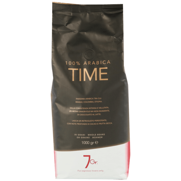 7gr Time 100% Arabica 1kg Bohnen