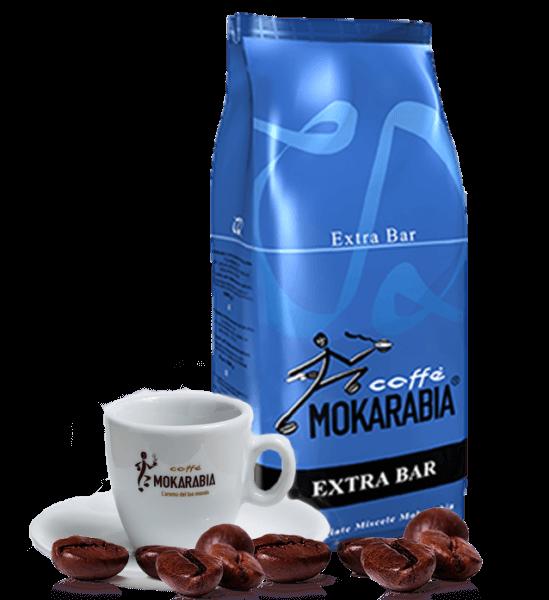 Mokarabia Extra Bar Espresso Kaffee 1kg Bohnen