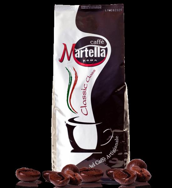 Martella Classic Class Espresso Kaffee 1000 Gramm Bohnen