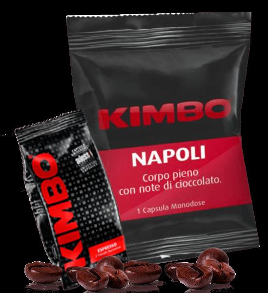 Kimbo Espresso Napolitano - EP Kaffeekapseln 100 Stück