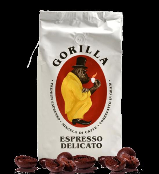Gorilla Espresso Delicato - Kaffee Espresso, 1kg Bohnen