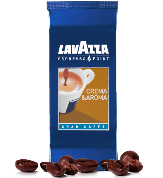 Lavazza Espresso Point Crema e Aroma Gran Kaffee 465