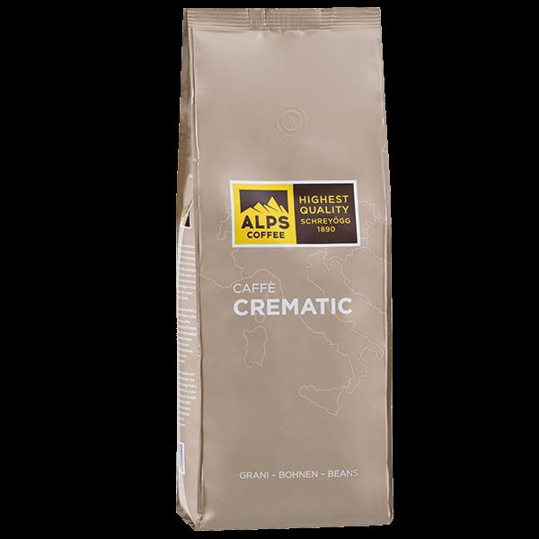 ALPS Coffee - Schreyögg Crematic Espresso Kaffee 1000 Gramm Bohnen