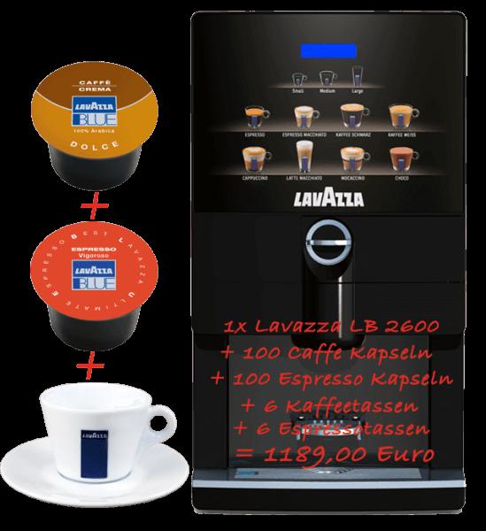 Lavazza Blue Kapselmaschine LB 2600