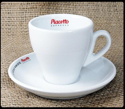 Piacetto Kaffeetasse mit Untertasse