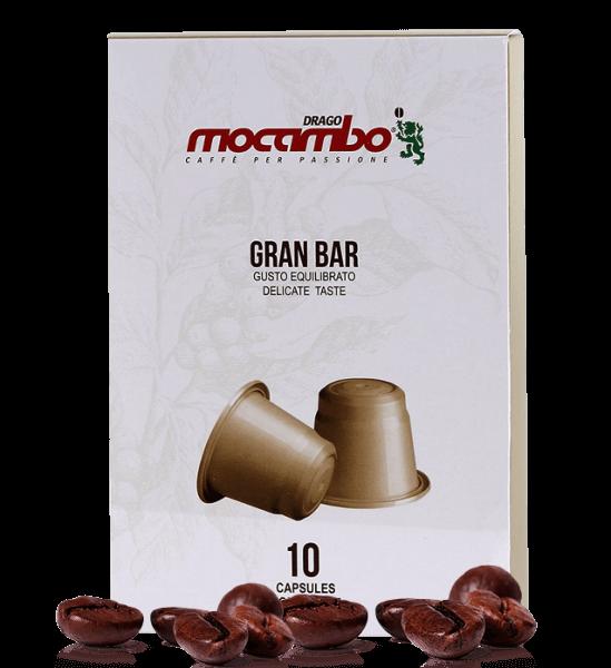 Mocambo Gran Bar Kapseln Nespresso® kompatibel - 10 Stück