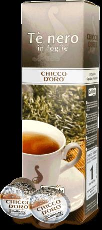 Chicco d'Oro Schwarzer Tee Kapseln