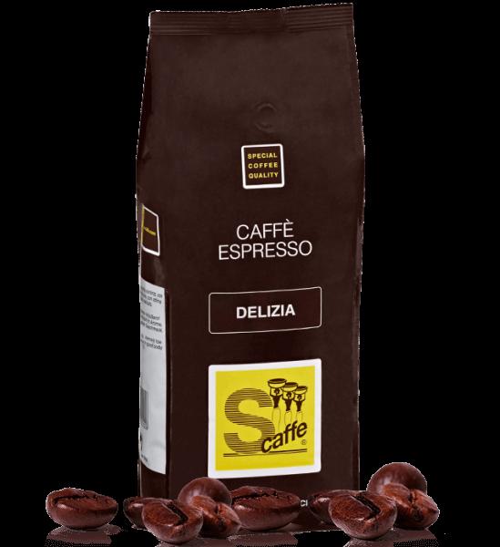 Schreyögg Delizia Espresso Kaffee 1000 Gramm Bohnen