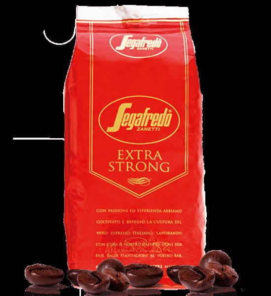 Segafredo Kaffee Extra Strong, Espresso 1000 Gramm Bohnen
