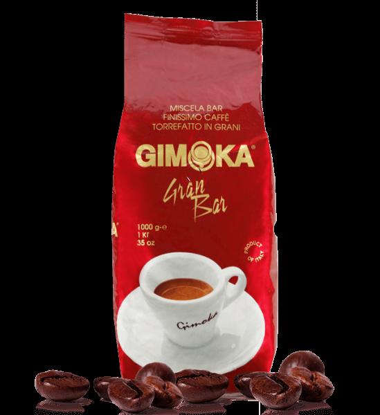 Gimoka Rot Gran Bar - Kaffee Espresso 1kg