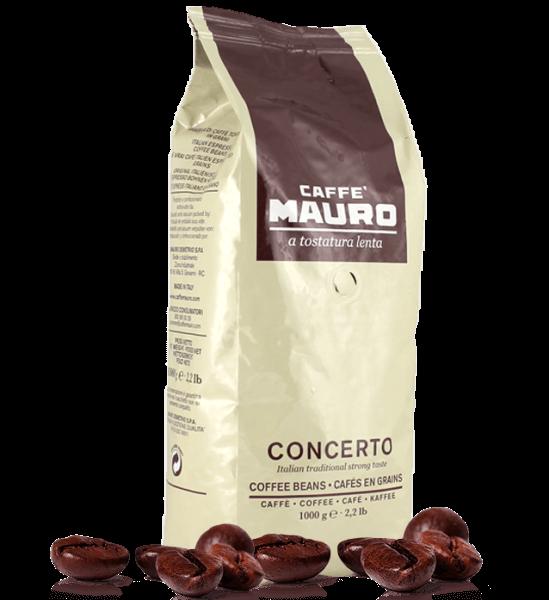 Mauro Kaffee Concerto Espresso 1000 Gramm Bohnen