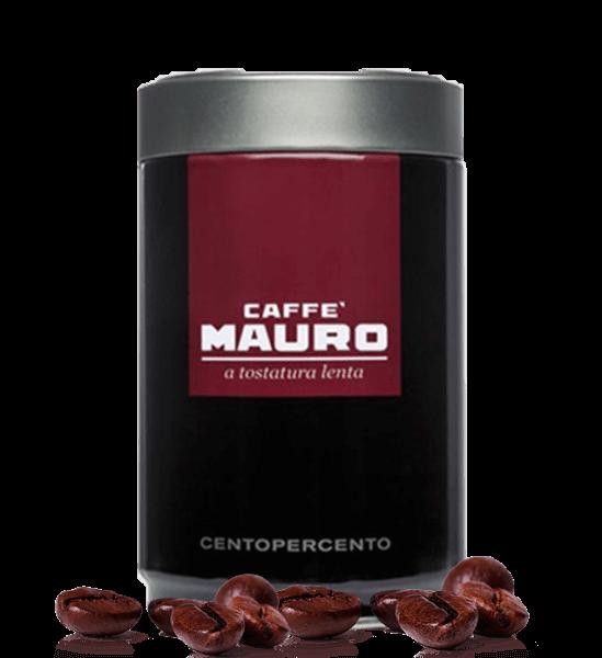 Mauro Kaffee Centopercento Espresso 250 Gramm Bohnen
