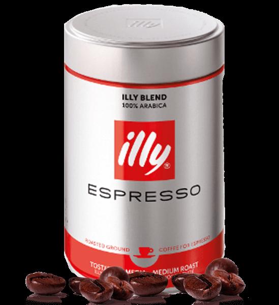 Illy normale Röstung - Kaffee Espresso 250g gemahlen
