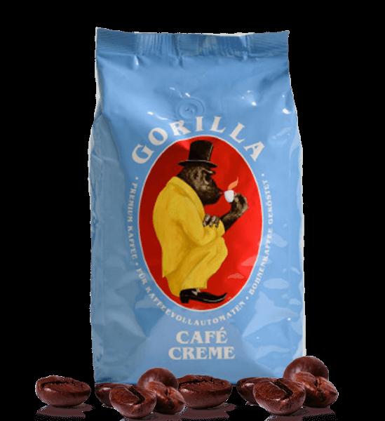 Gorilla Kaffee Creme - Kaffee, 1kg Bohnen