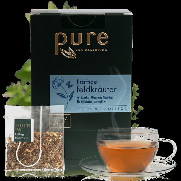 Tchibo Premium Tee Pure Tee BIO Kräftige Feldkräuter 25 Beutel