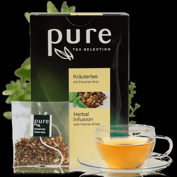 Tchibo Pure Tee Tea Selection Mild Harmonischer Kräutertee - 25 Beutel