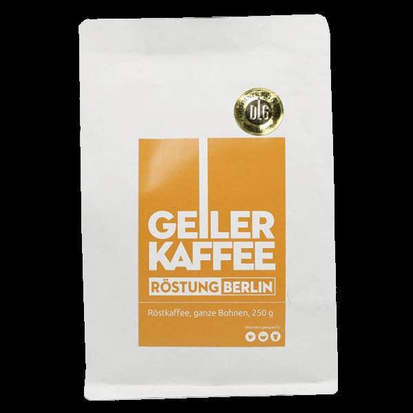 Geiler Kaffee - Roestung BERLIN 250g Bohnen