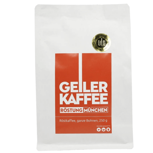 Geiler Kaffee - Röstung Muenchen 250g Bohnen