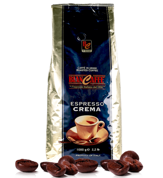 Biancaffe Espresso Crema - 1000 Gramm Bohnen