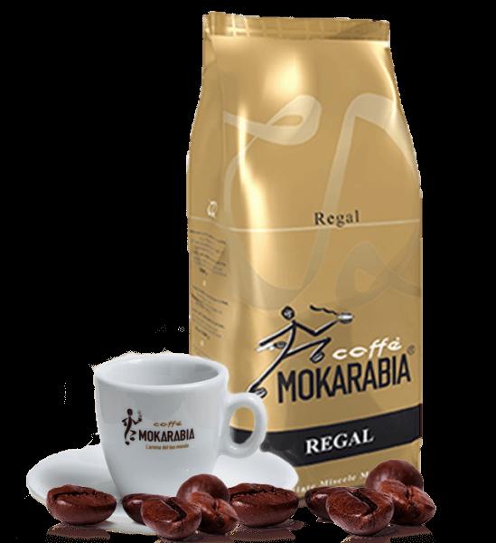 Mokarabia Regal Espresso Kaffee 1kg Bohnen