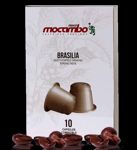 Mocambo Brasilia Kapseln Nespresso® kompatibel - 10 Stück