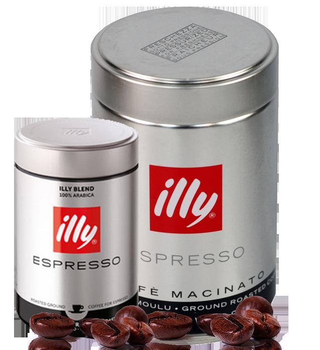 illy starke r stung kaffee espresso 250g gemahlen kaffeestore24. Black Bedroom Furniture Sets. Home Design Ideas