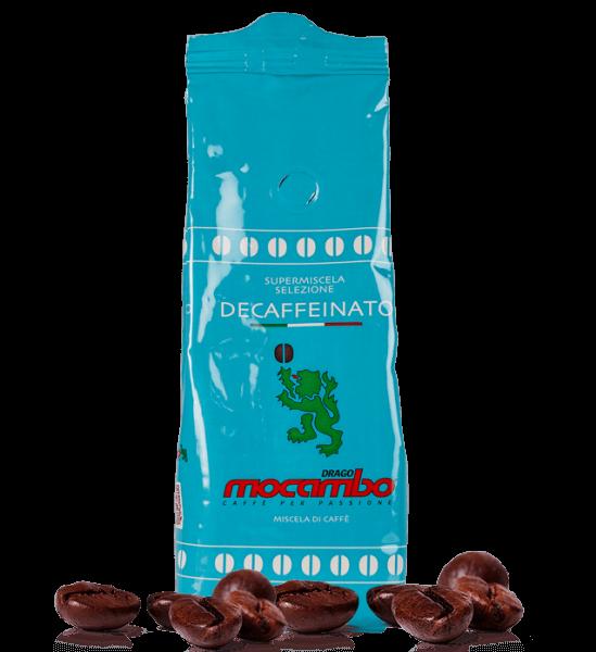 Mocambo Kaffee Brasilia Koffeinfrei, 250g Bohnen