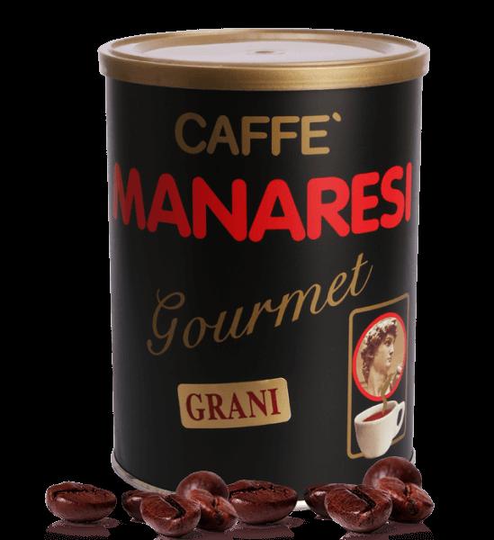 Manaresi Gourmet - Espresso Kaffee, 250g Bohnen