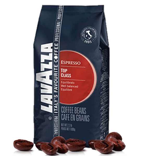 Lavazza Top Class Espresso Kaffee 1000 Gramm Bohnen