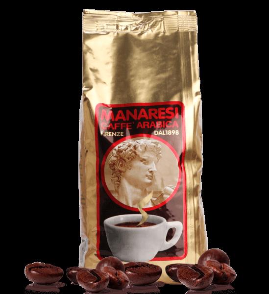 Manaresi Oro - Espresso Kaffee, 250g Bohnen