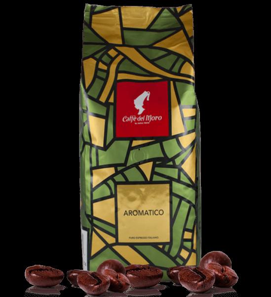 Caffe del Moro Aromatico Espresso Kaffee 1000 Gramm Bohnen