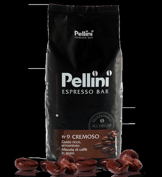 Pellini Cremoso 1kg Kaffee - Espresso Bohnen