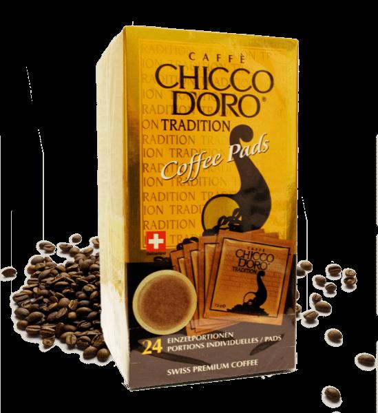 Chicco dOro Tradition Pads - 24 Pads - für Senseo®