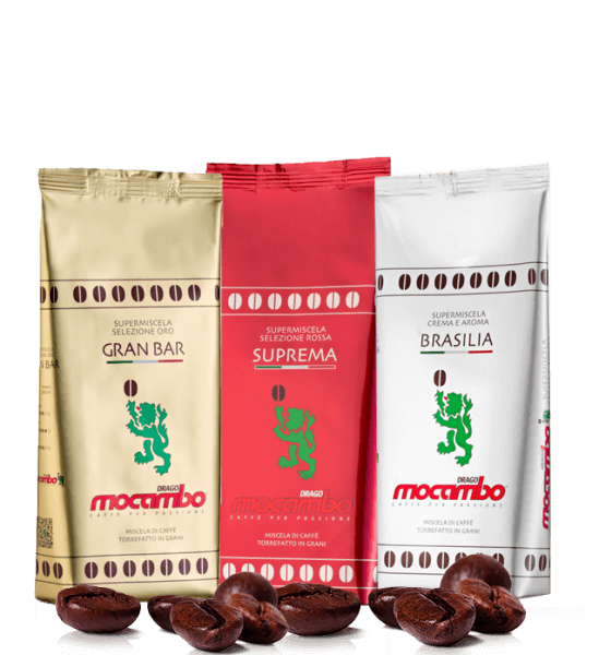 Mocambo Probierpaket 3 x 1000 Gramm Bohnen