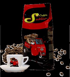 Caffe Subito Espresso Kaffee von Martella 1000 Gramm Bohnen