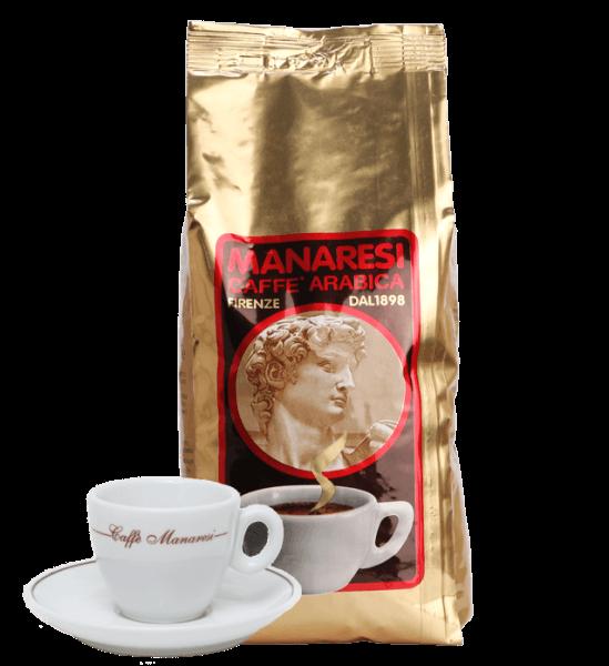 Manaresi Oro - Espresso Kaffee, 1kg Bohnen