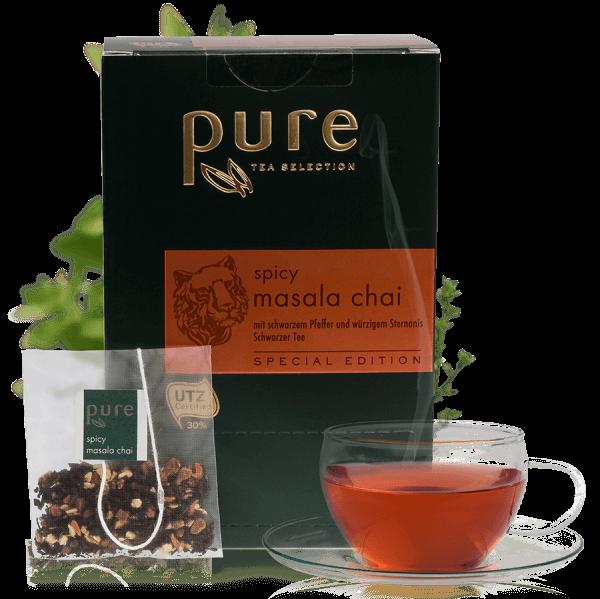 Tchibo Premium Pure Tee Spicy Masala Chai 25 Beutel