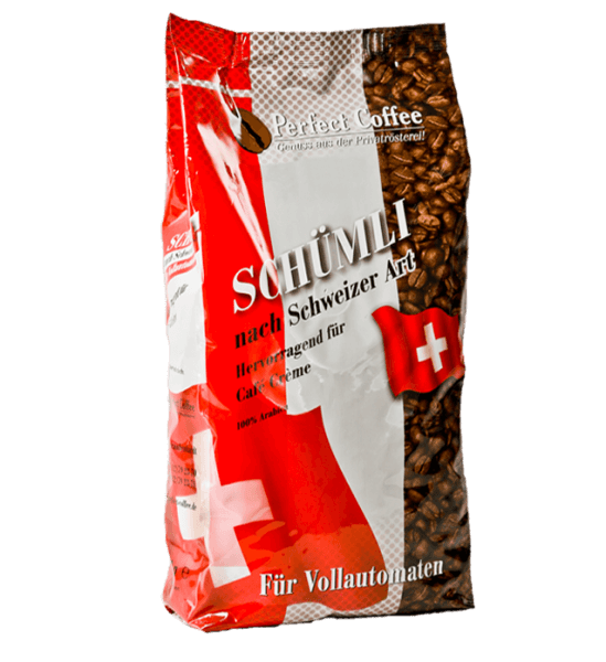 Schümli Kaffee nach Schweizer Art 1kg Bohnen