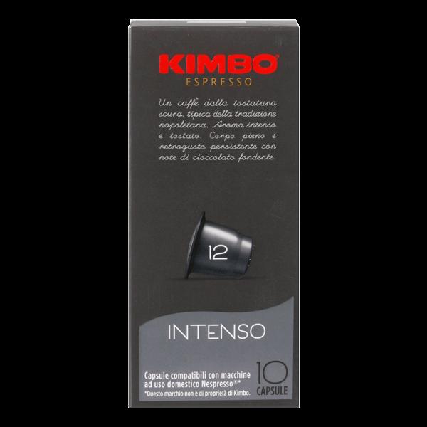 Kimbo Intenso Kapseln - Nespresso® kompatibel - 10 Kapseln