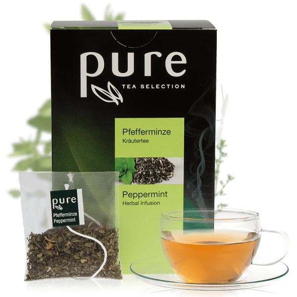 Tchibo Pure Tee Pfefferminze 25 Beutel, Tea Selection
