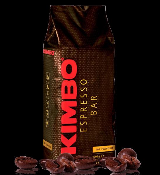 Kimbo Top Flavour, 1kg Espresso Bohnen